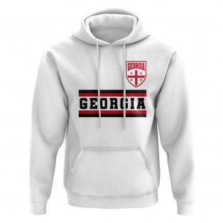 Georgia Core Football Country Hoody (White)