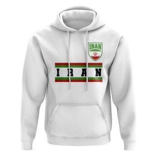 Iran Core Football Country Hoody (White)