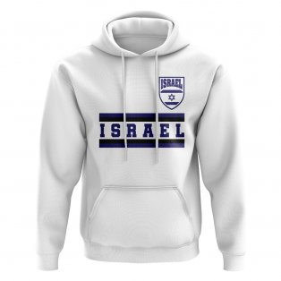 Israel Core Football Country Hoody (White)