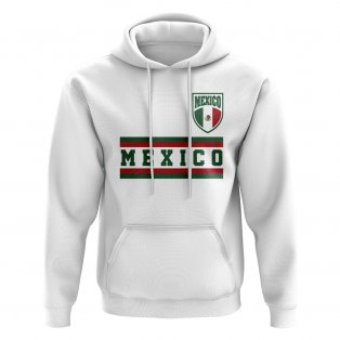 Mexico Core Football Country Hoody (White)