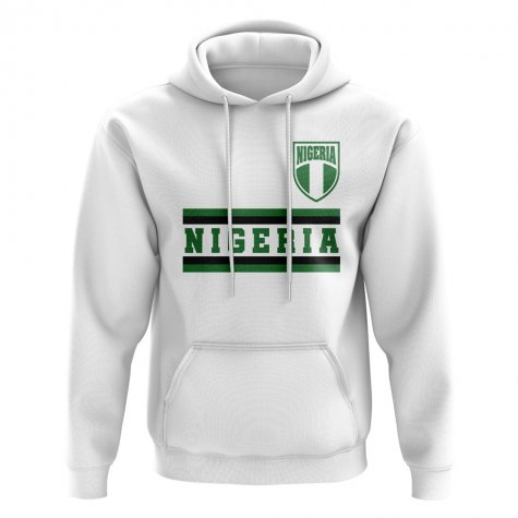 Nigeria Core Football Country Hoody (White)