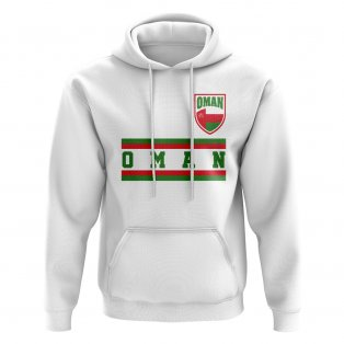 Oman Core Football Country Hoody (White)