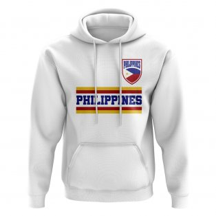Philippines Core Football Country Hoody (White)