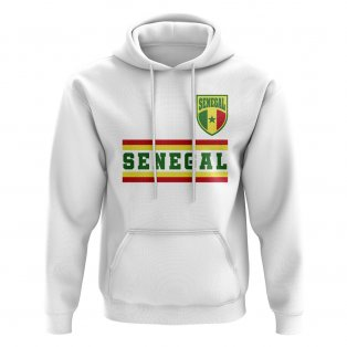 Senegal Core Football Country Hoody (White)