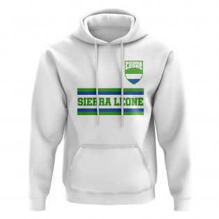Sierra Leone Core Football Country Hoody (White)