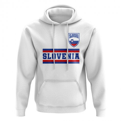 Slovenia Core Football Country Hoody (White)
