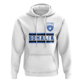 Somalia Core Football Country Hoody (White)
