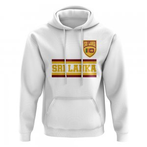 Sri Lanka Core Football Country Hoody (White)