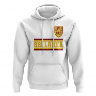 Sri Lanka Core Football Country Hoody (White)