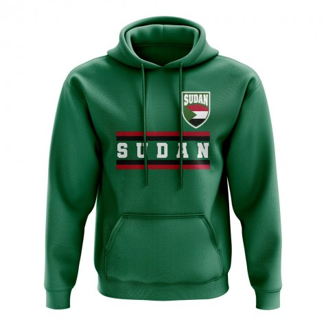 Sudan Core Football Country Hoody (Green)