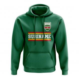 Suriname Core Football Country Hoody (Green)