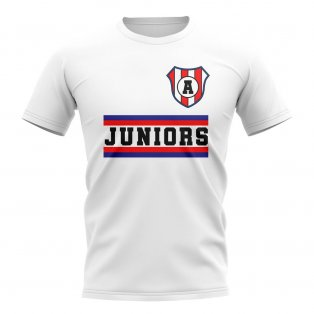 Argentinos Juniors Core Football Club T-Shirt (White)