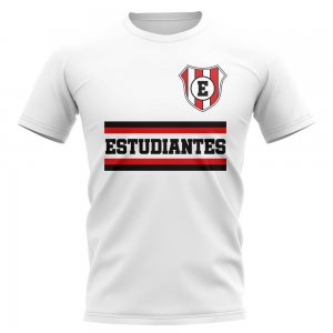 Estudiantes Core Football Club T-Shirt (White)