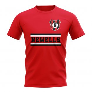 Newell's Old Boys Core Football Club T-Shirt (Red)