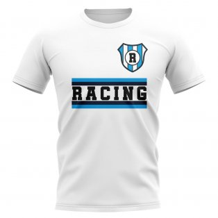 Racing Club Core Football Club T-Shirt (Royal)