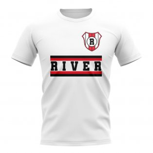 River Plate Core Football Club T-Shirt (White)