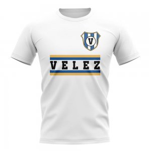 Velez Sarsfield Core Football Club T-Shirt (White)
