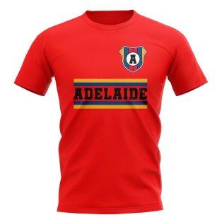 Adelaide United Core Football Club T-Shirt (Red)