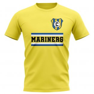Central Coast Mariners Core Football Club T-Shirt (Yellow)