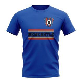 Newcastle Jets Core Football Club T-Shirt (Royal)
