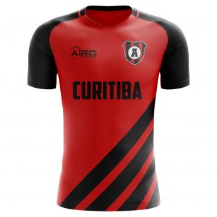 2020-2021 Athletico Paranaense Home Concept Football Shirt