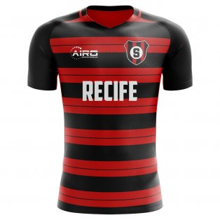 2020-2021 Sporting Recife Home Concept Football Shirt