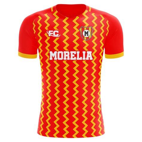 2018-2019 Monarcas Morelia Fans Culture Home Concept Shirt - Kids