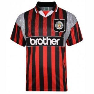 Score Draw Manchester City 1994 Away Shirt