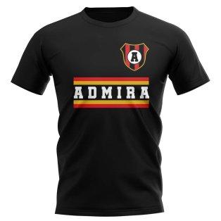 Admira Wacker Modling Core Football Club T-Shirt (Black)