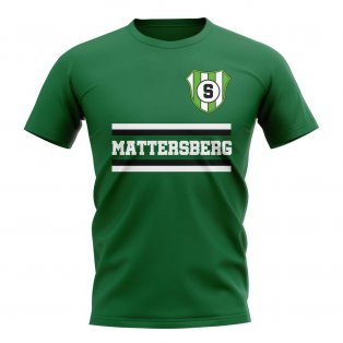 Sv Mattersburg Core Football Club T-Shirt (Green)