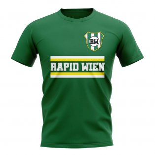 Rapid Wien Core Football Club T-Shirt (Green)