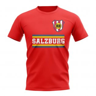 Rb Salzburg Core Football Club T-Shirt (Red)