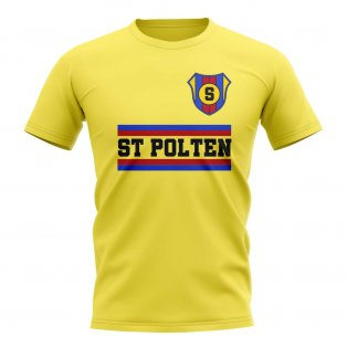 St Polten Core Football Club T-Shirt (Yellow)
