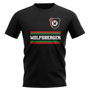 Wolfsberger AC Core Football Club T-Shirt (Black)