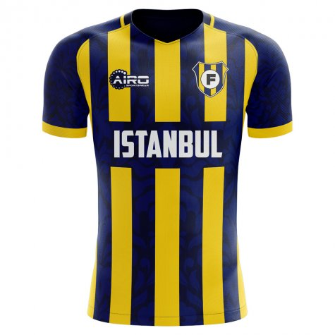 2019-2020 Fenerbahce Home Concept Football Shirt - Baby