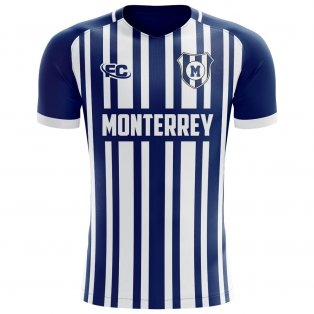 2018-2019 Monterrey Fans Culture Home Concept Shirt - Little Boys