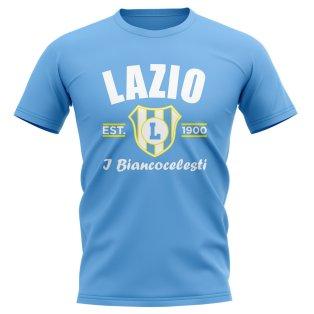 Lazio Established Football T-Shirt (Sky)