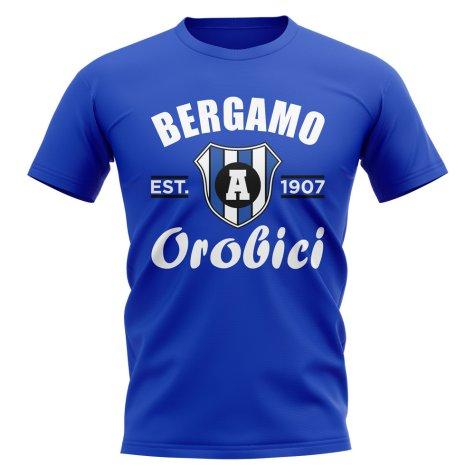Atalanta Established Football T-Shirt (Royal)