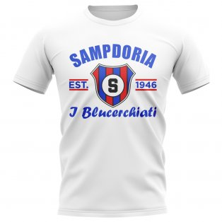 Sampdoria Established Football T-Shirt (White)