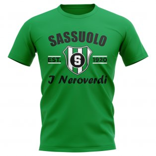 Sassuolo Established Football T-Shirt (Green)