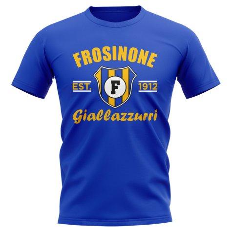 Frosinone Established Football T-Shirt (Blue)