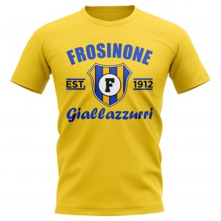 Frosinone Established Football T-Shirt (Yellow)