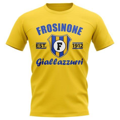 Frosinone Established Football T-Shirt (Yellow)
