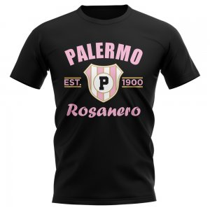 Palermo Established Football T-Shirt (Black)