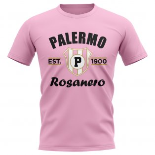 Palermo Established Football T-Shirt (Pink)