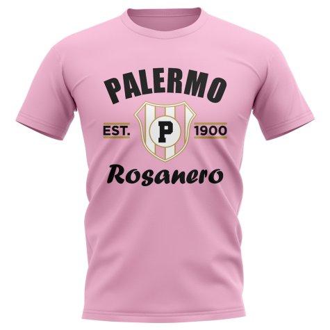 Palermo Established Football T-Shirt (Pink)