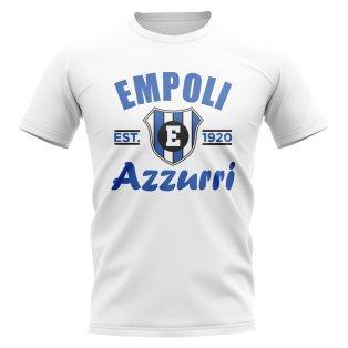 Empoli Established Football T-Shirt (White)
