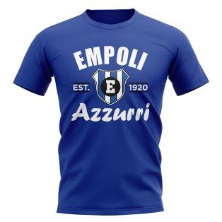 Empoli Established Football T-Shirt (Blue)