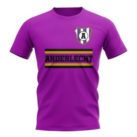 Anderlecht Core Football Club T-Shirt (Purple)