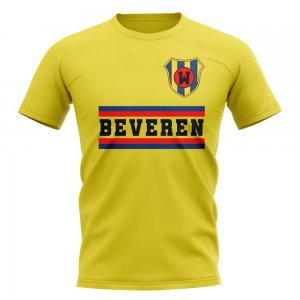 Waasland-beveren Core Football Club T-Shirt (Yellow)